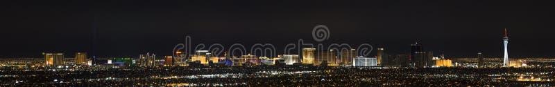 Panorama de Las Vegas fotos de archivo