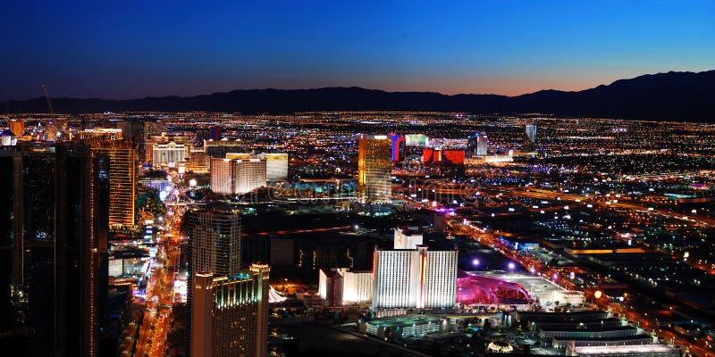 Panorama de Las Vegas foto de archivo