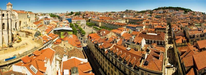 Panorama de Lisboa imágenes de archivo libres de regalías