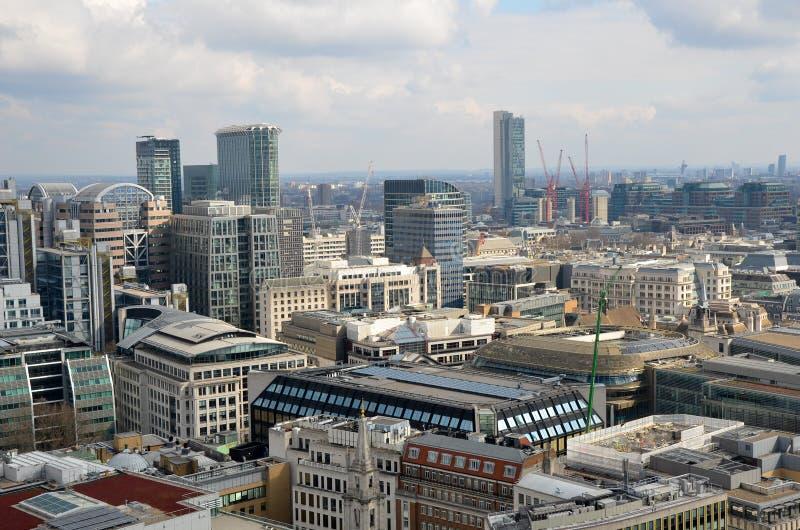 Panorama de Londres foto de archivo libre de regalías