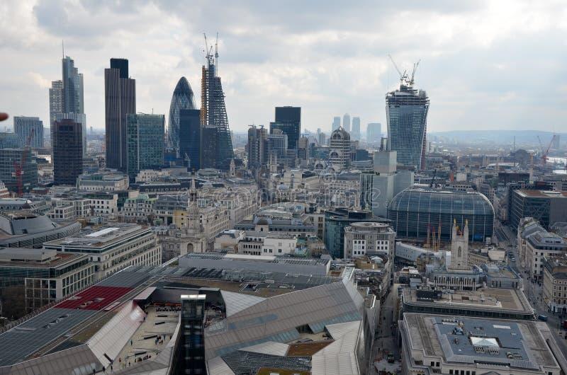 Panorama de Londres fotos de archivo