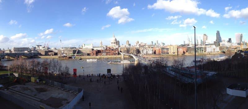 Panorama de Londres image stock