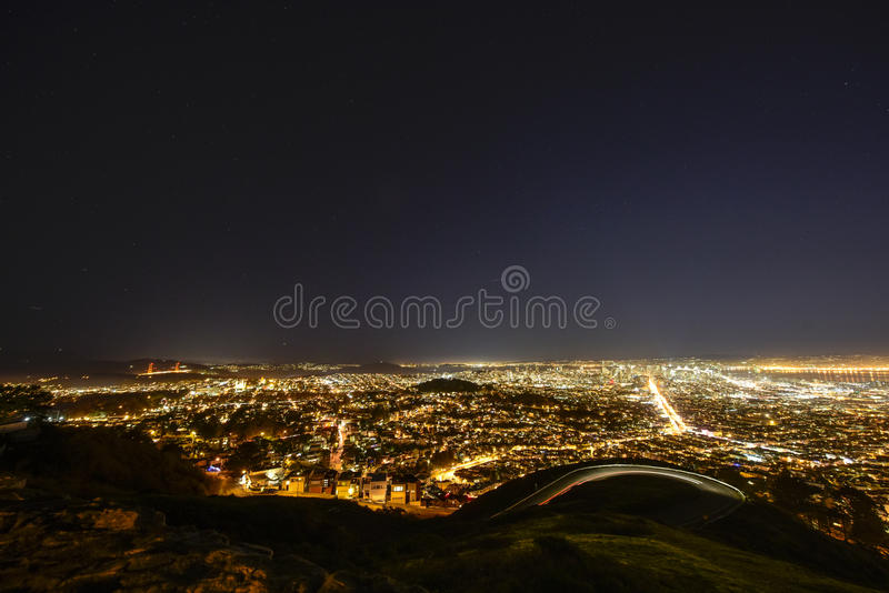 Panorama de Los Angeles photos stock