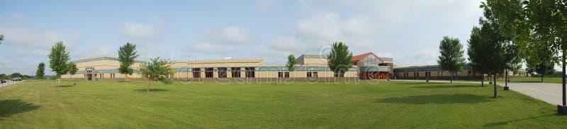 Panorama de lycée photographie stock libre de droits
