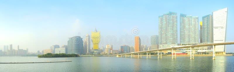 Panorama de Macau imagem de stock royalty free