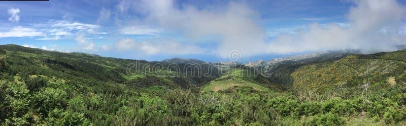 Panorama de Madeira imagenes de archivo