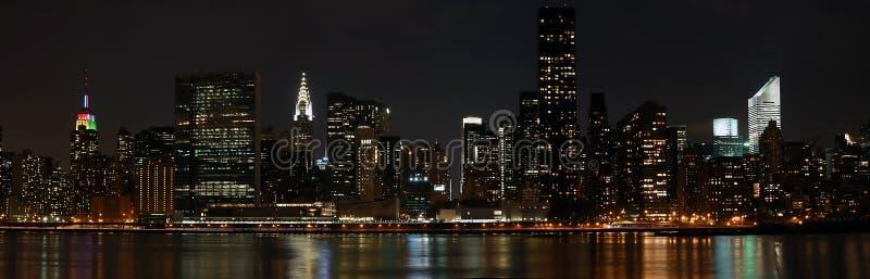Panorama de Manhattan fotografía de archivo