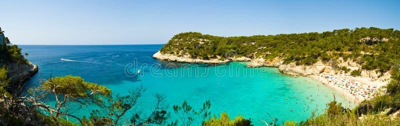 Panorama de Menorca foto de archivo