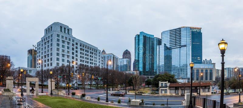 Panorama de Midtown Atlanta images libres de droits