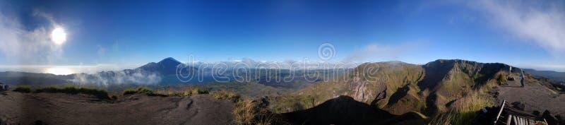 Panorama de montagne images libres de droits
