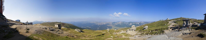Panorama de montagnes photos libres de droits