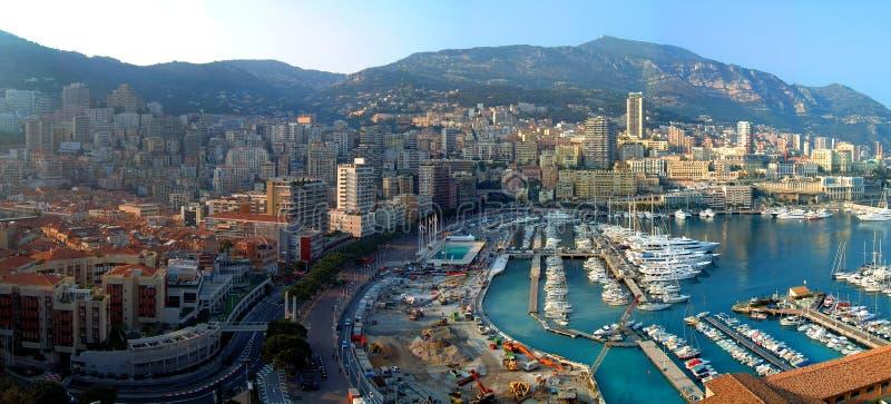 Panorama de Monte Carlo photographie stock