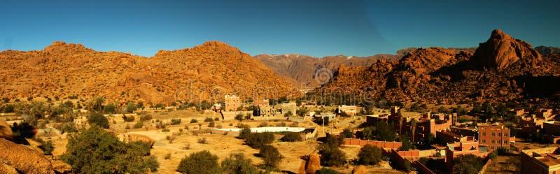 Panorama de Moroccian photos stock