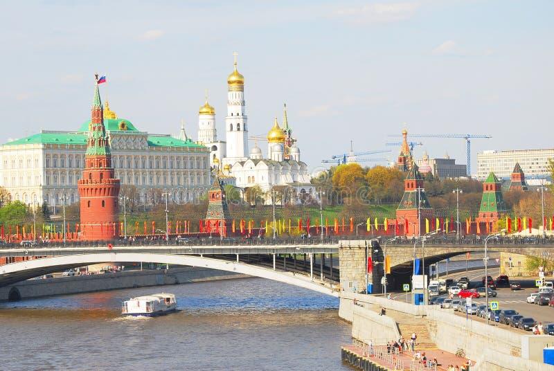 Panorama de Moscou Kremlin photographie stock