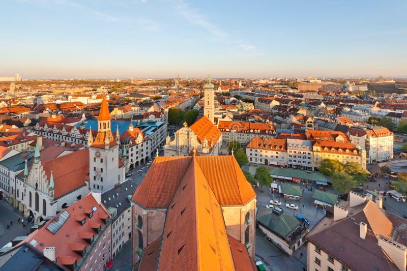 Panorama de Munich imagem de stock