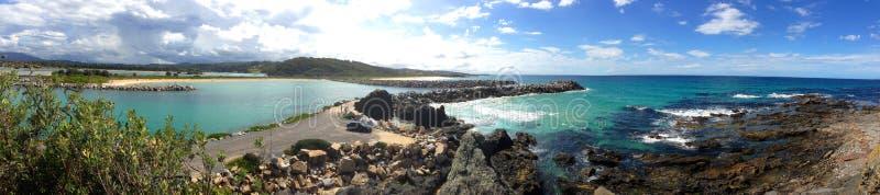 Panorama de Narooma image libre de droits