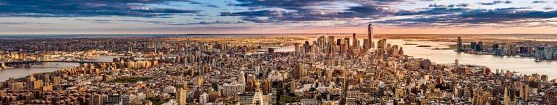 Panorama de New York photos stock