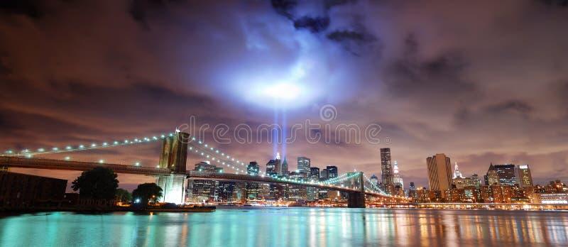 Panorama de New York City image libre de droits