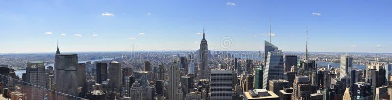 Panorama de New York City photographie stock