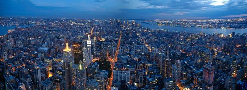 Panorama de New York City photos libres de droits