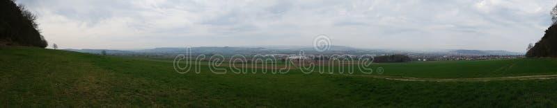 Panorama de Northeim Allemagne image libre de droits