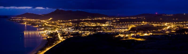 Panorama de Oporto Santo imágenes de archivo libres de regalías