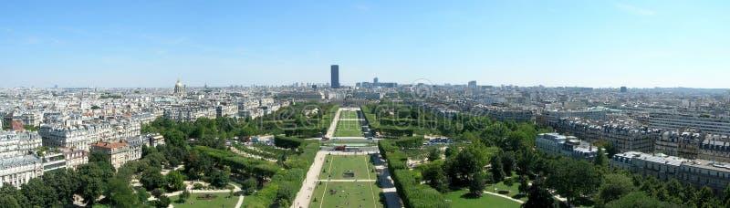 Panorama de París fotografía de archivo