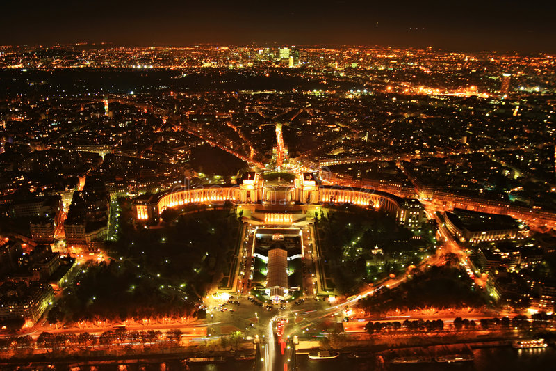 Panorama de Paris image stock