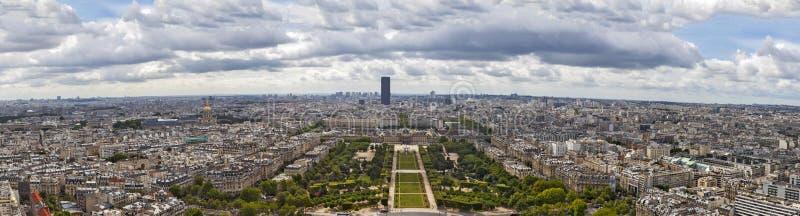 Panorama de Paris imagens de stock