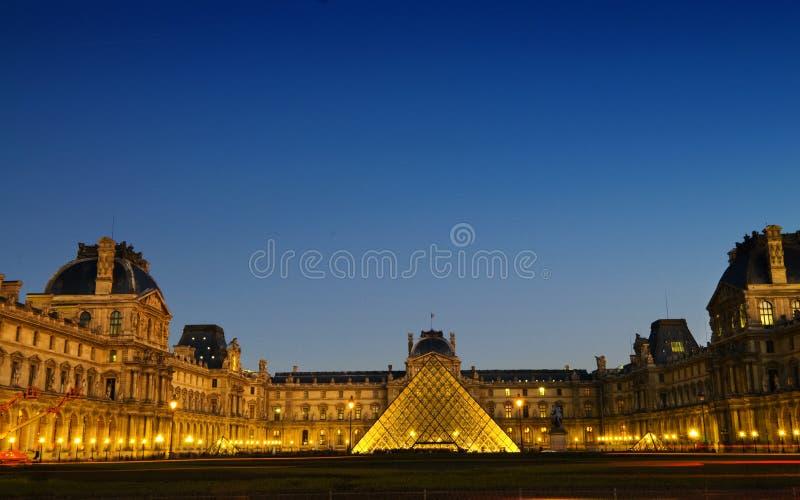 Panorama de Paris de musée d'auvent image libre de droits