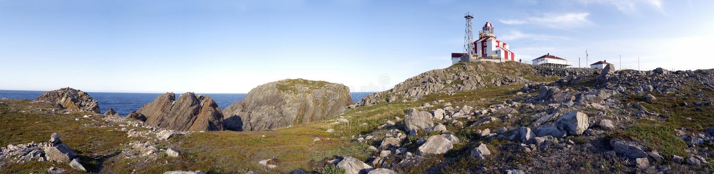 Download Panorama De Phare De Bonavista De Cap Image stock - Image du landmark, côte: 742435