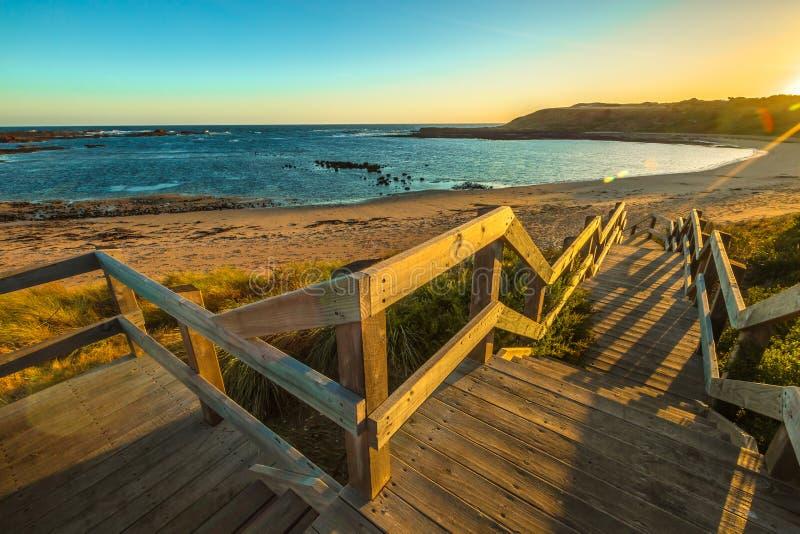 Panorama de Phillip Island fotografia de stock royalty free
