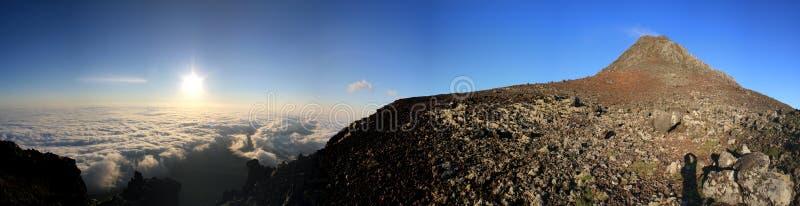 Panorama de Pico Sunrize fotos de archivo libres de regalías