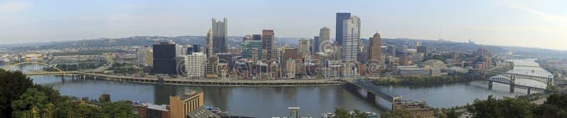 Panorama de Pittsburgh foto de archivo