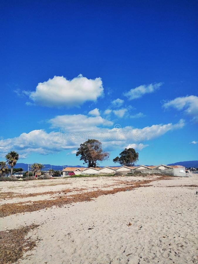 Panorama de plage images stock