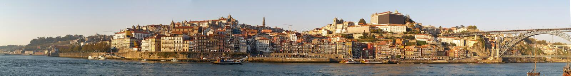 Panorama de Porto image stock