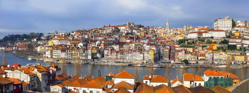 Panorama de Porto bonito imagem de stock