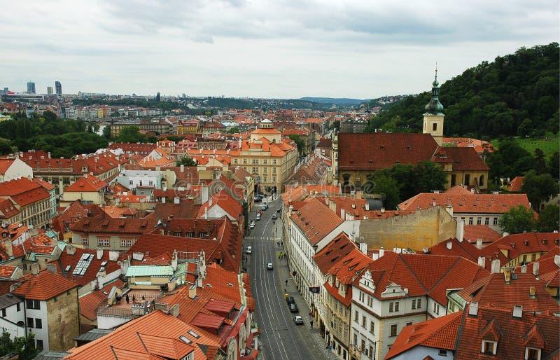 Panorama de Praga imágenes de archivo libres de regalías