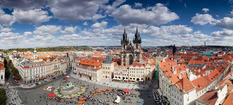 Panorama de Prague photographie stock libre de droits