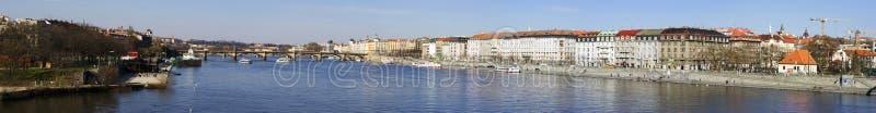 Panorama de Prague photos stock