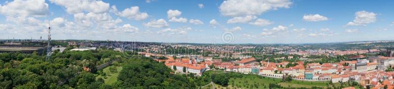 Panorama de Prague du centre image stock