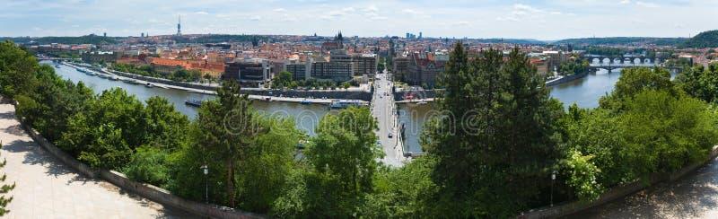 Panorama de Prague, République Tchèque photo libre de droits
