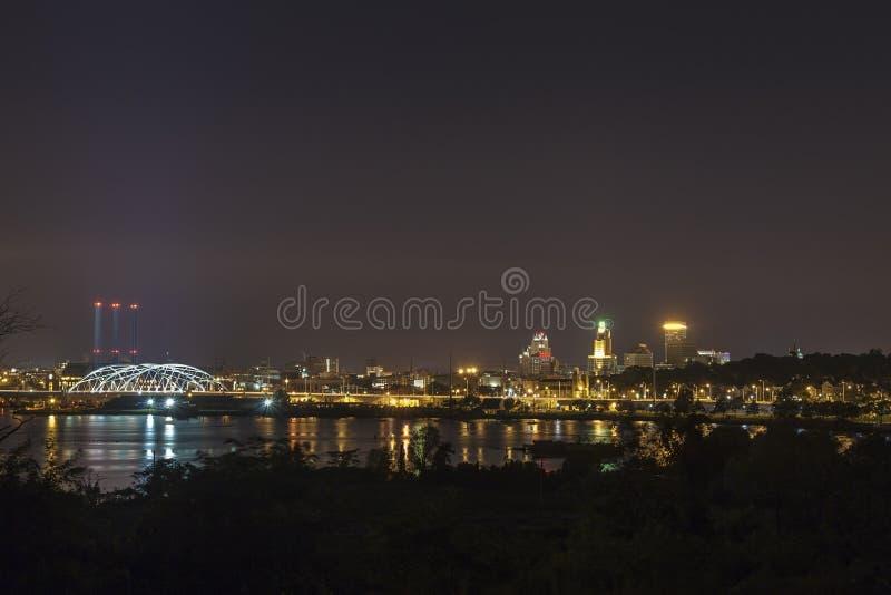 Panorama de Providence, EUA foto de stock