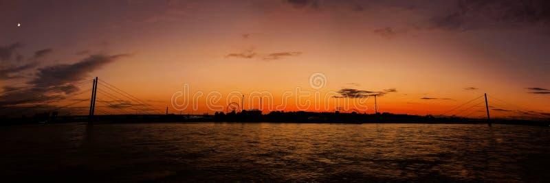 Panorama de Rajna imagens de stock