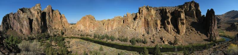 Panorama de roche de Smith image stock