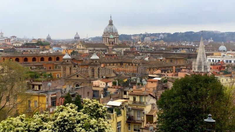 Panorama de Rome images libres de droits