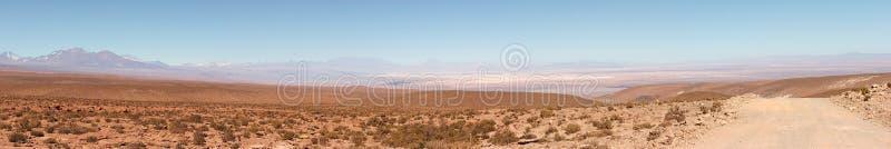 Panorama de Salar de Atacama, Chili images libres de droits