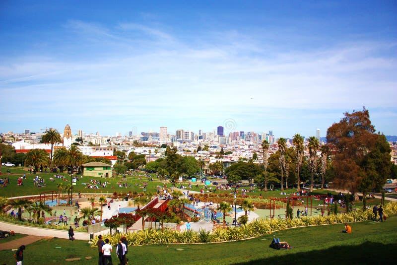 Download Panorama de San Francisco foto editorial. Imagen de marzo - 42437476