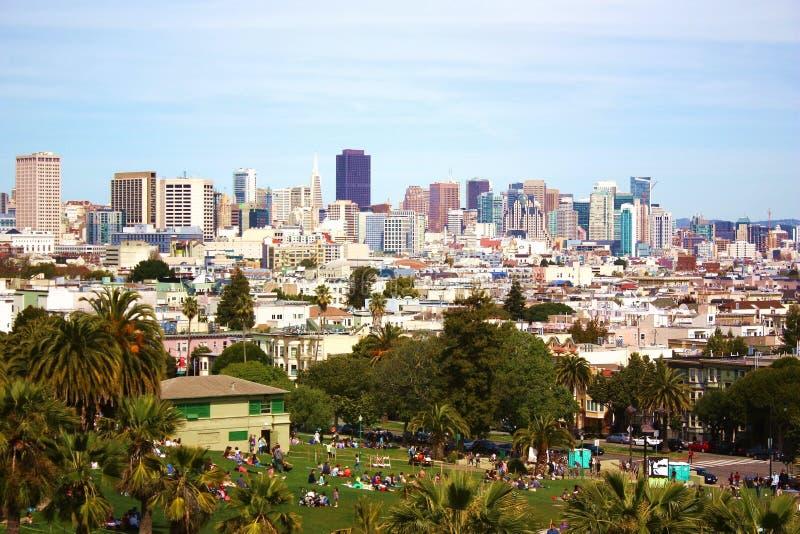 Download Panorama de San Francisco foto de archivo. Imagen de familia - 42437480
