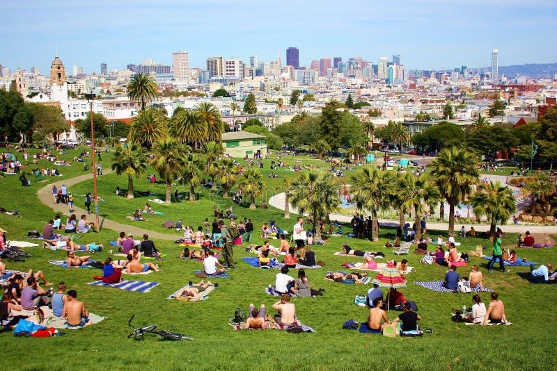 Download Panorama de San Francisco fotografía editorial. Imagen de california - 42437497